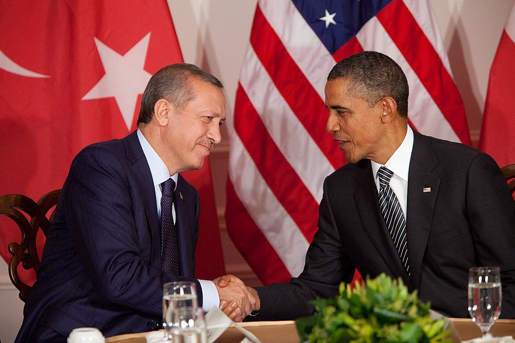 Barack Obama and Recep Erdogan are having an emergency meeting on September