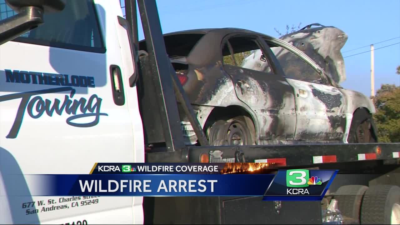 Driver suspected of starting wildfire faces more charges