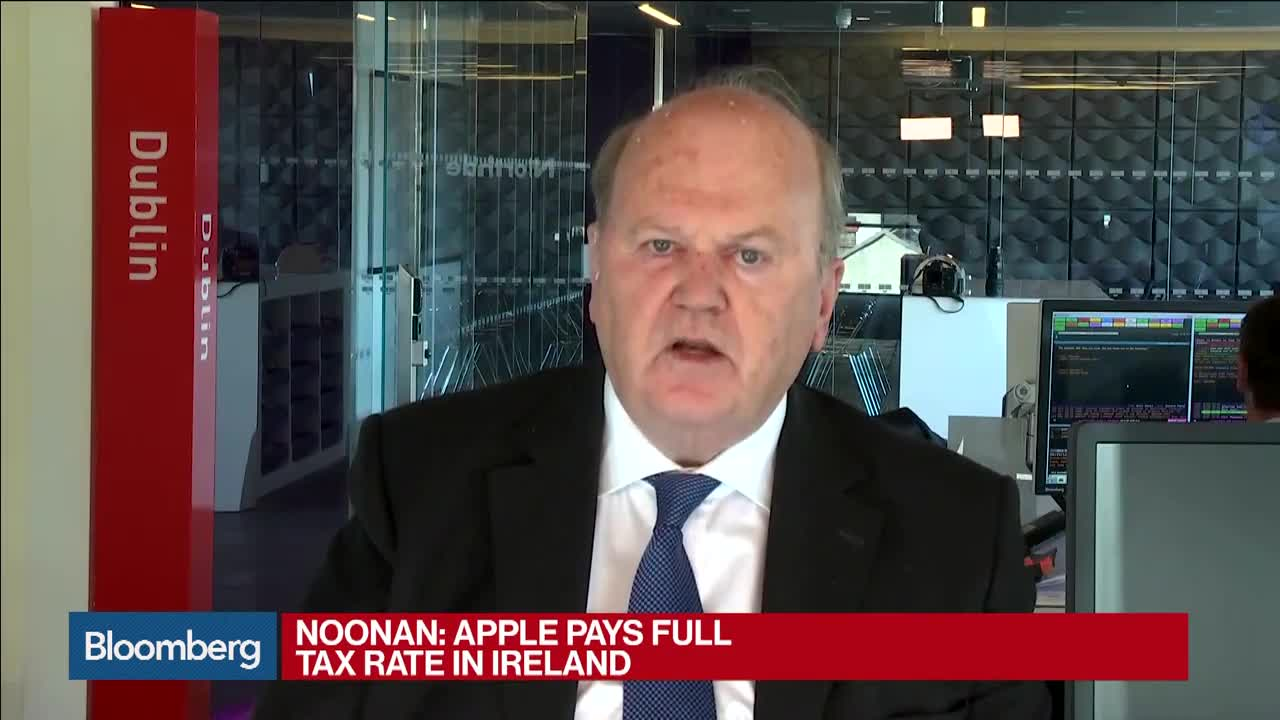 Ireland's Noonan: We Don't Think Apple Decision Is Valid