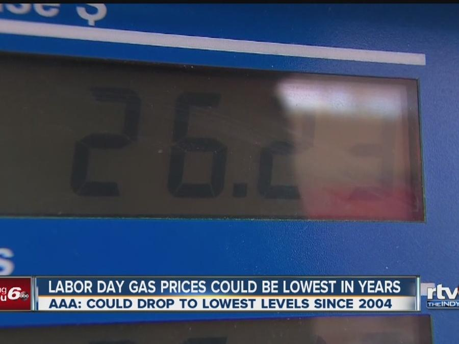 Gas prices up across central Indiana