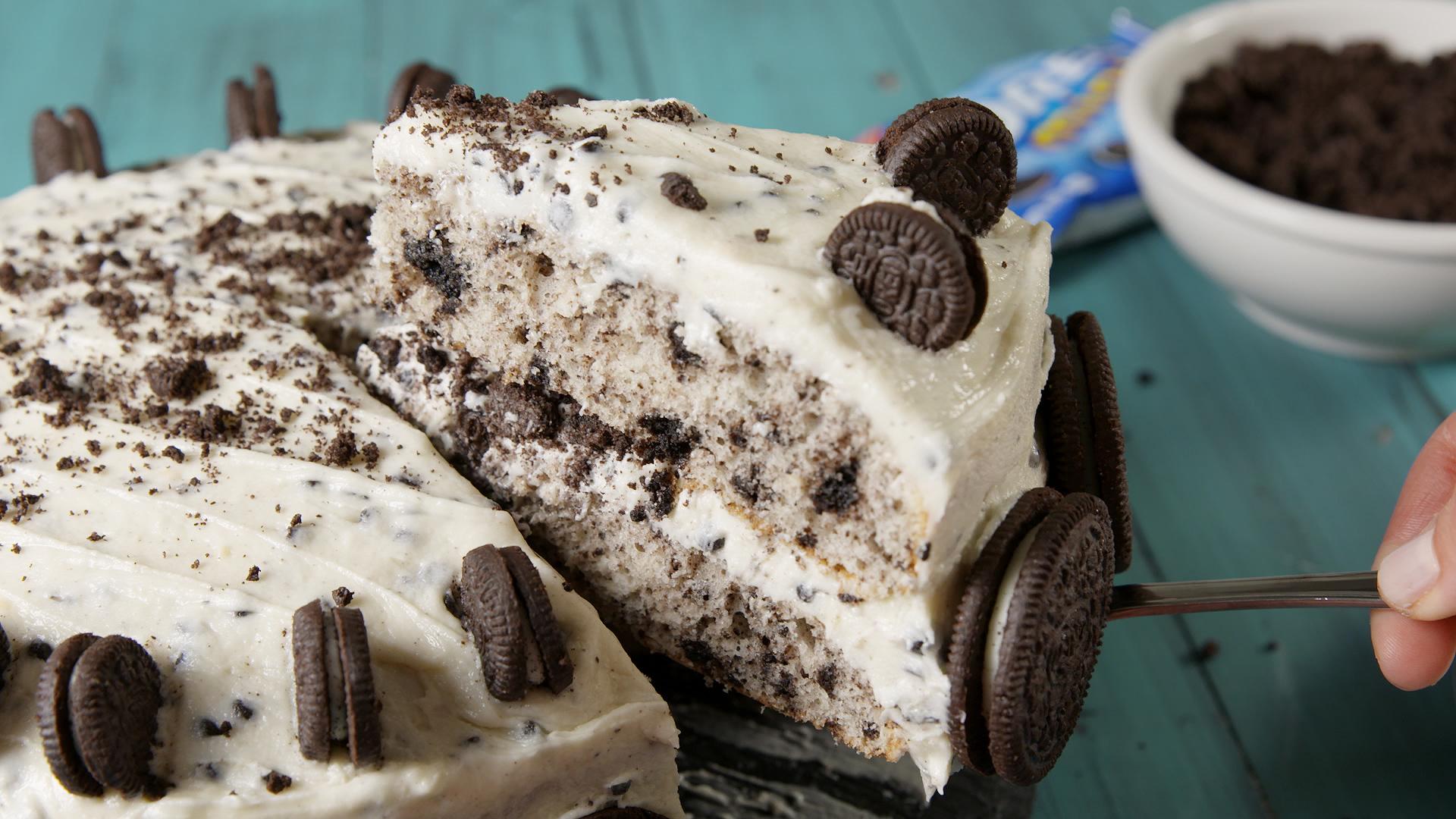 Oreogasm Cake Recipe