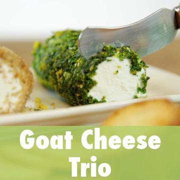 Goat Cheese Trio Recipe