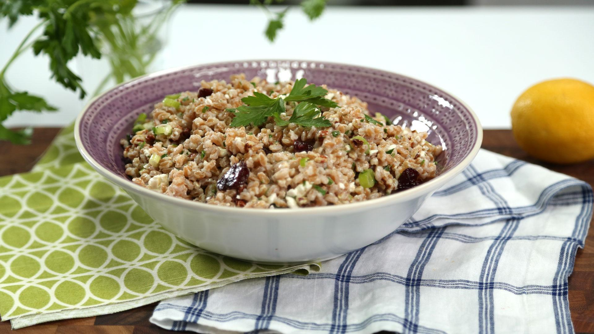 Farro and Pecan Salad Recipe
