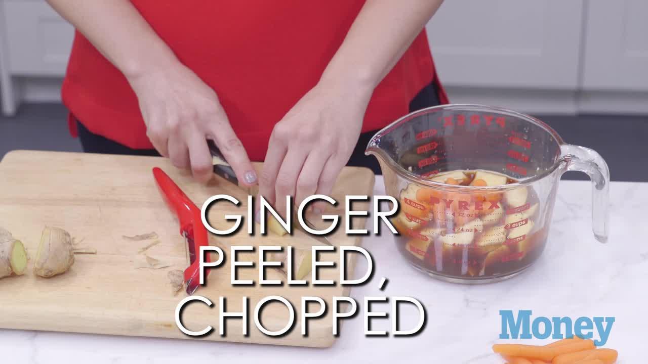 Dorm Room Dinner Hacks: Carrot and Ginger Soup