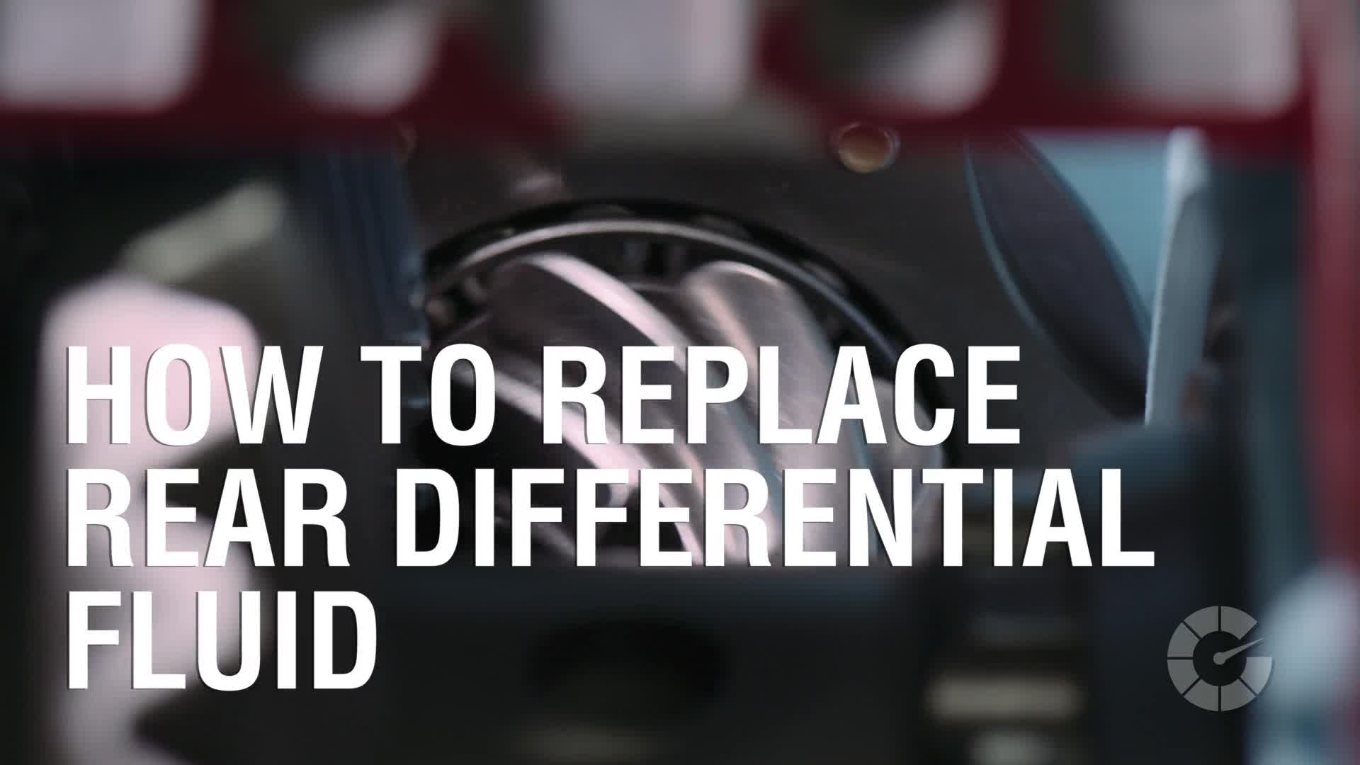 How To Replace Rear Differential Fluid | Autoblog Wrenched