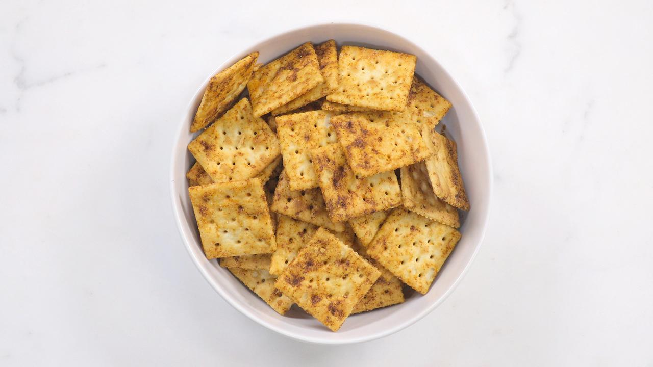 How to Make Spicy Parmesan Crackers