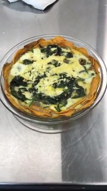 How to Make a Sweet Potato Crust Quiche
