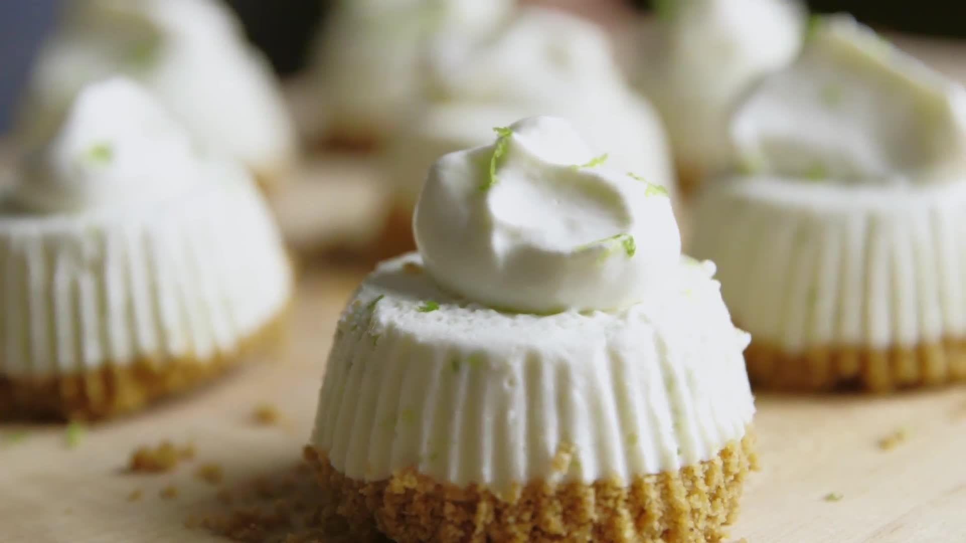 How to Make Mini Frozen Key Lime Pies