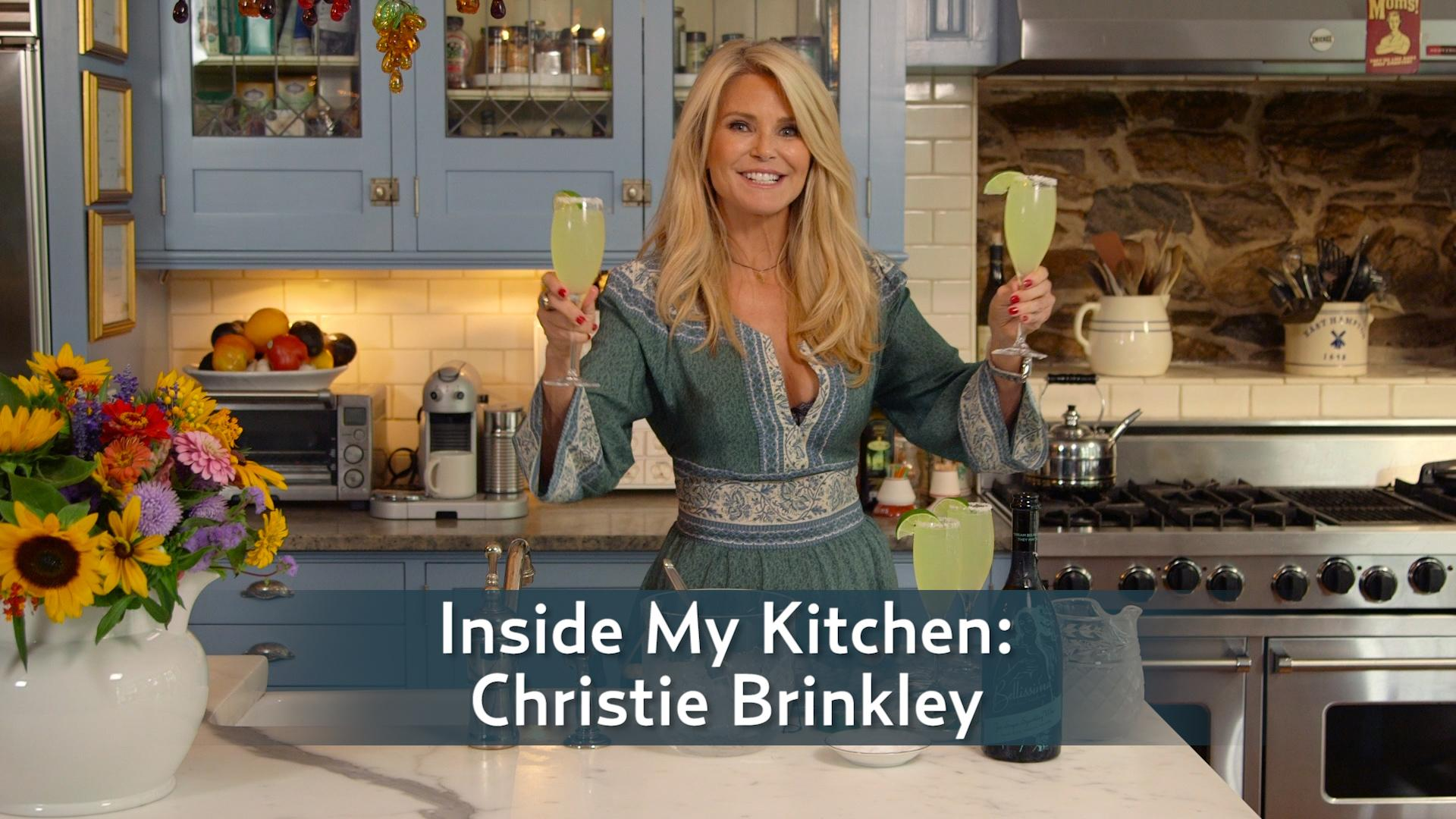Inside My Kitchen: Christie Brinkley