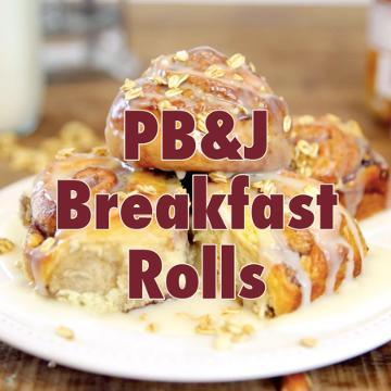 How to Make PB&J Breakfast Rolls