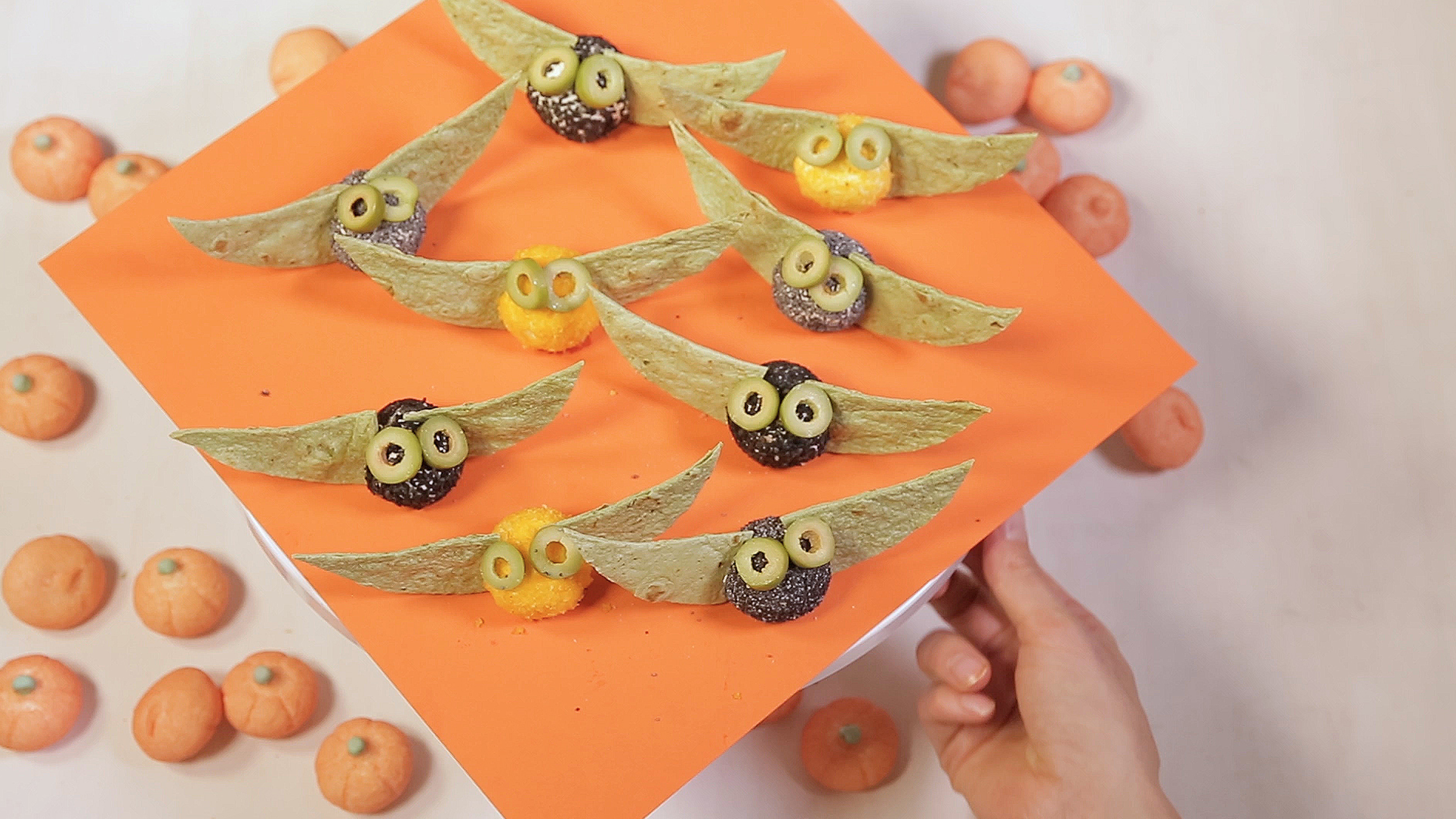 How to Make Halloween Cheese Balls