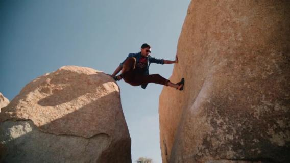 Watch Three of the World's Best Rock Climbers Defy Gravity at our Shoot in Joshua Tree