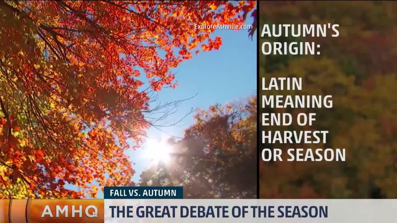 Fall vs Autumn