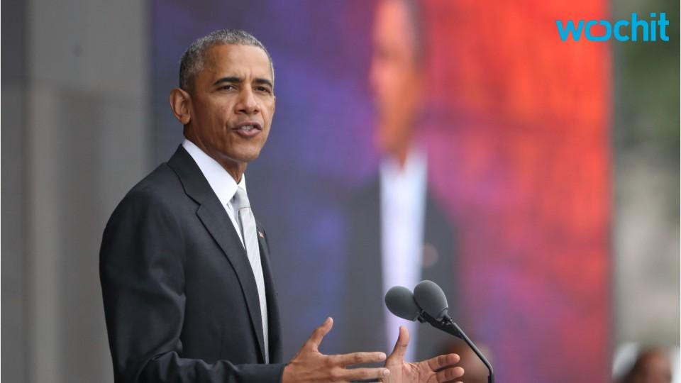 Obama Speaks At African American History Museum