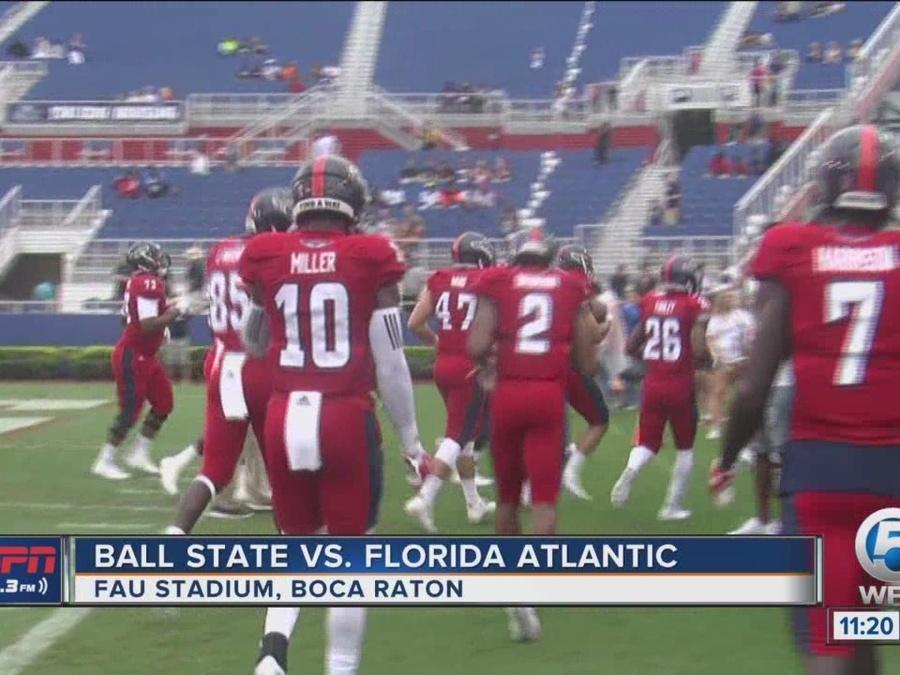 FAU falls in lightning-plagued heartbreaker vs. Ball State