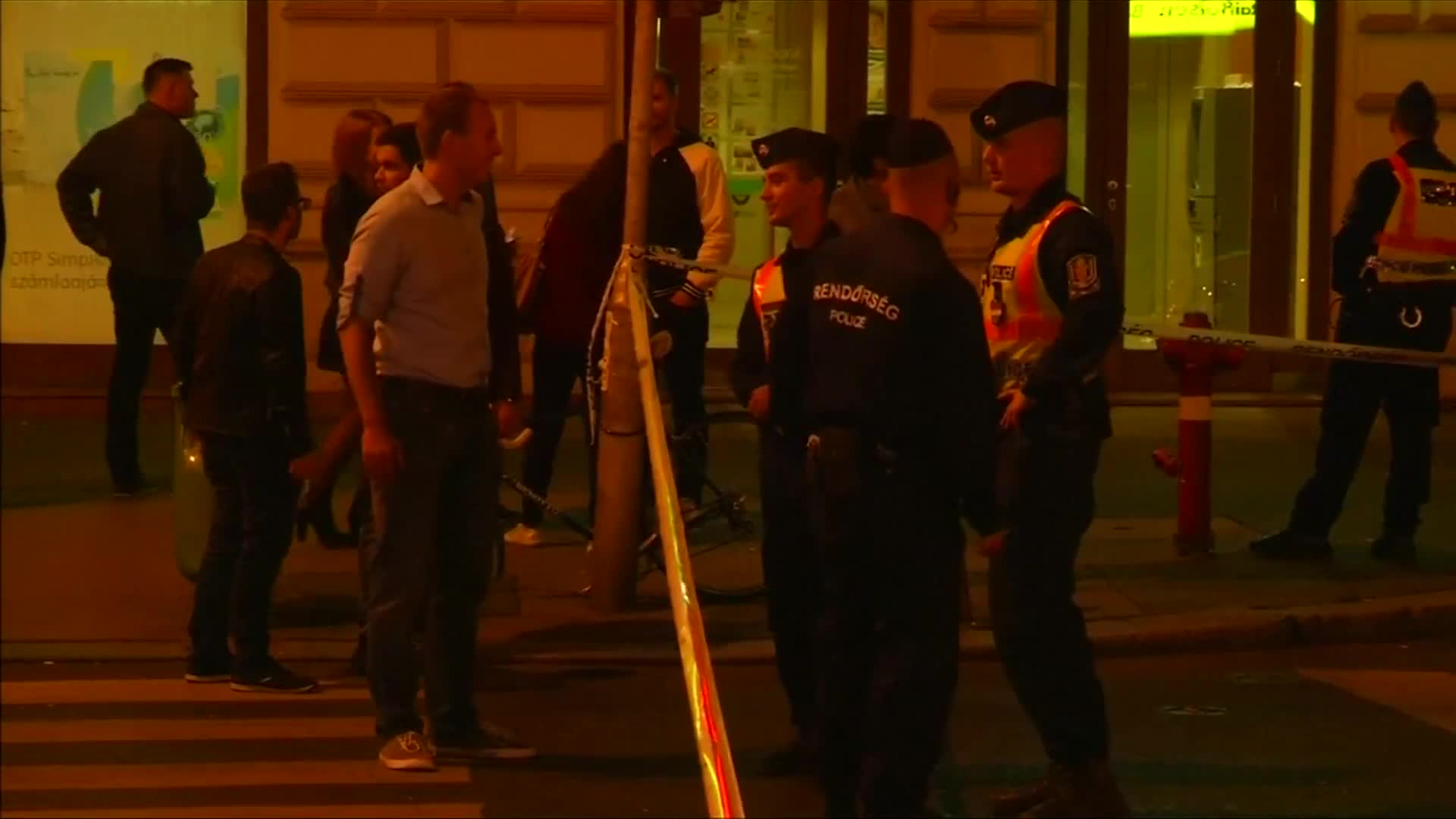 Two police injured in Budapest blast