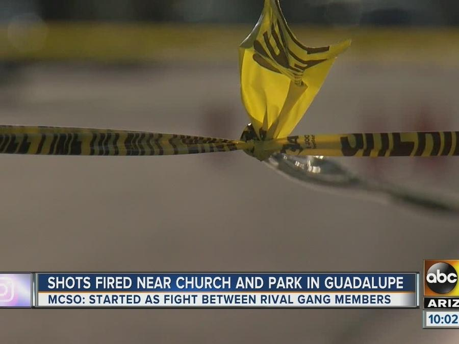 Police investigating shooting at Guadalupe park