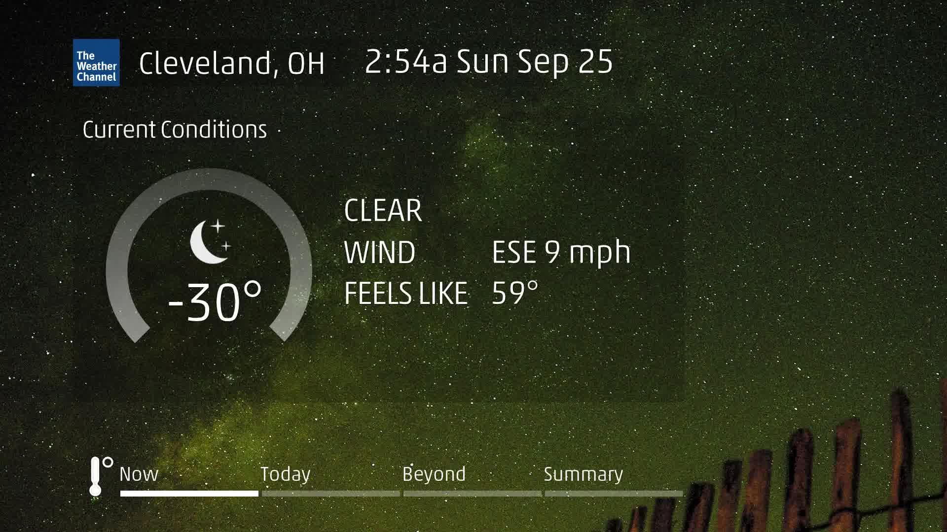 Cleveland, OH 60 Second Forecast