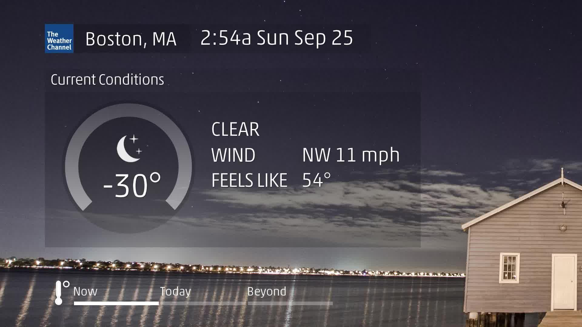 Boston, MA 60 Second Forecast
