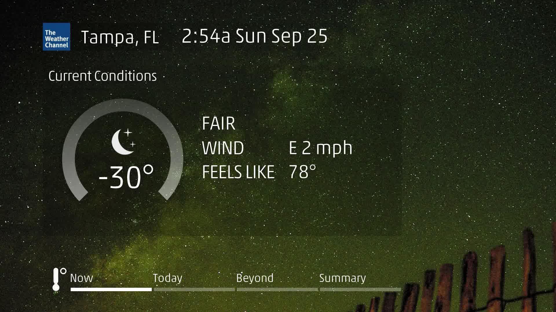 Tampa, FL 60 Second Forecast