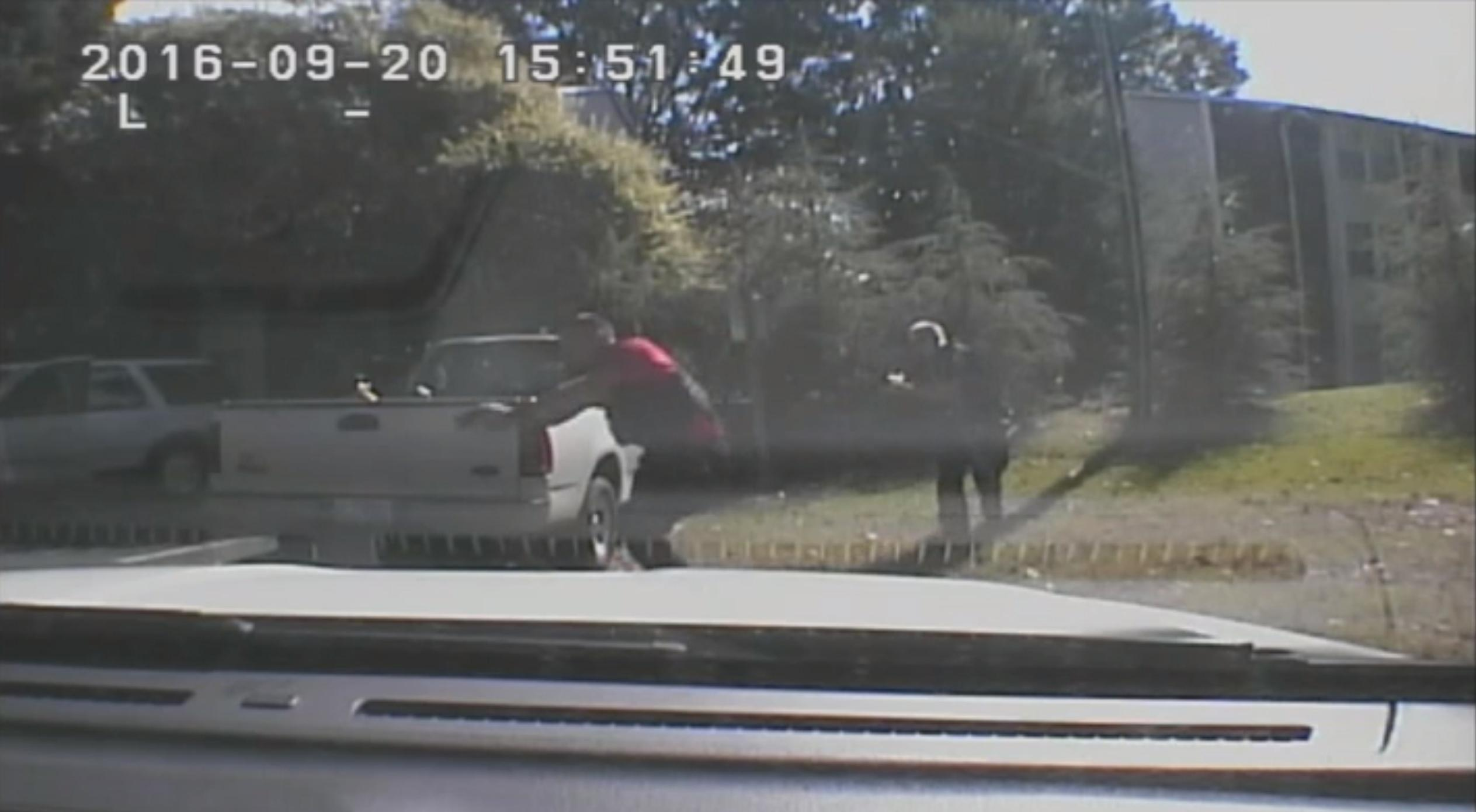 Watch: Charlotte police release video of Keith Scott shooting