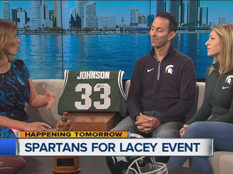 Spartans for Lacey event raises money for pediatric cancer research