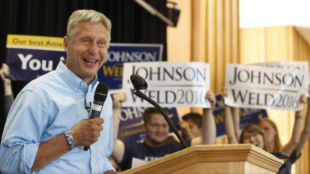 Gary Johnson Says Humans Need to Inhabit Other Planets