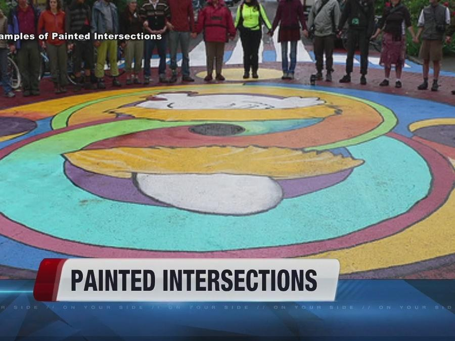 Painted intersections coming to Boise?