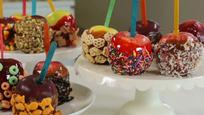 Mix-and-Match Candy and Caramel Apples