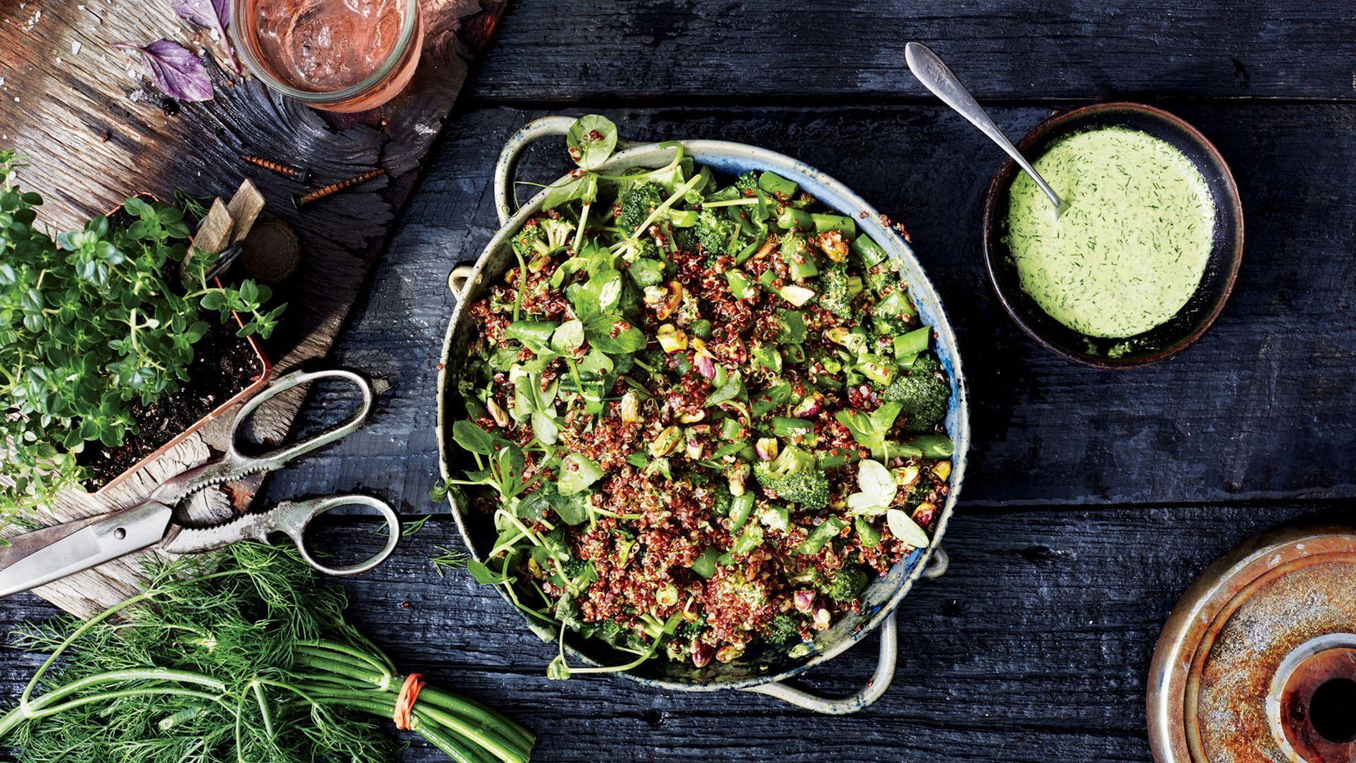 How to Make the Freshest Quinoa Salad