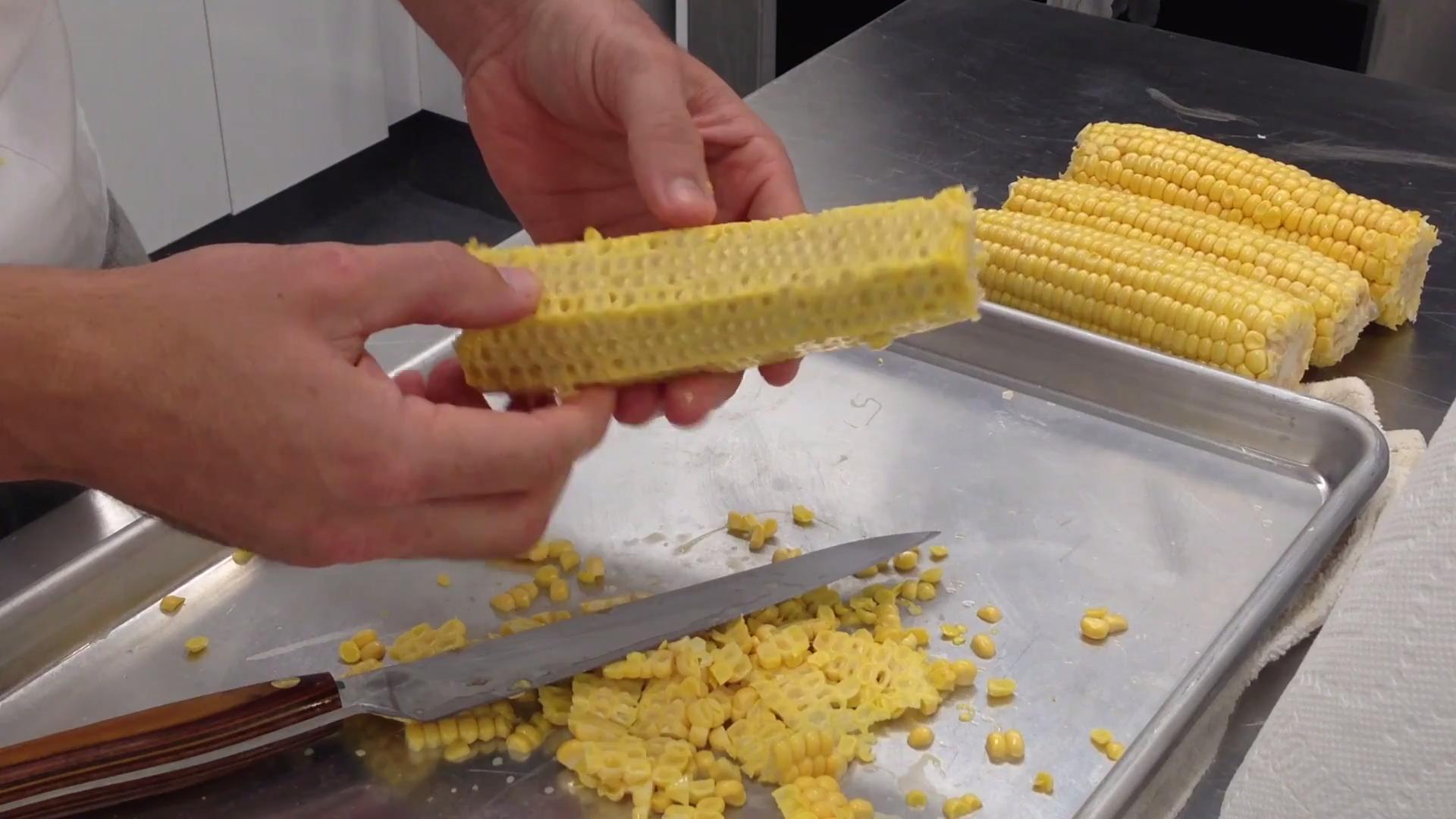 How to Remove Milk from Corn