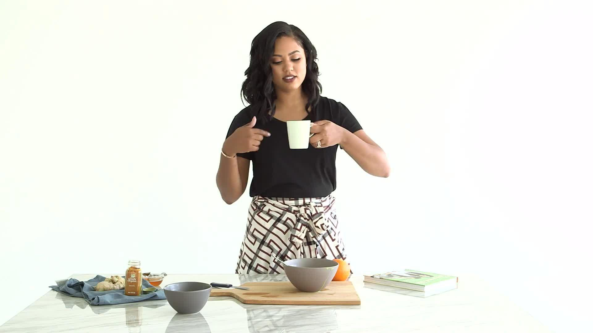 Ayesha Curry's Natural 'NyQuil' Tea