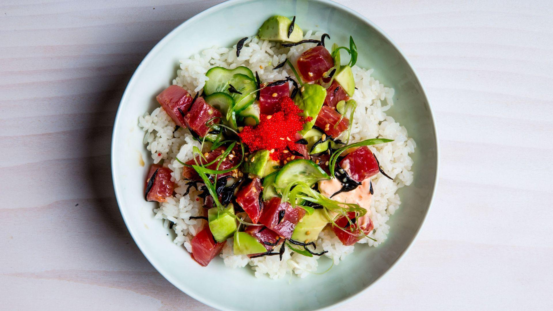 How to Make a Tuna Poke Bowl at Home