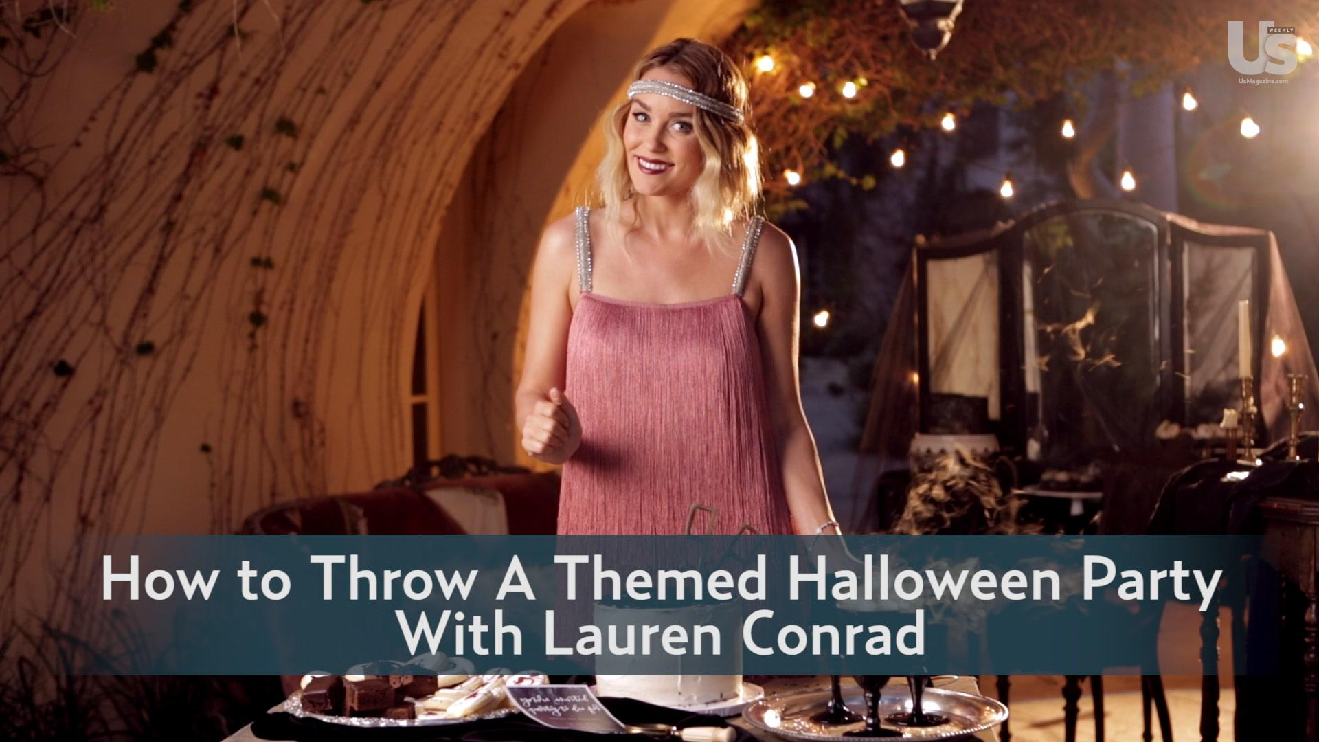 How to Throw a Themed Halloween Party With Lauren Conrad