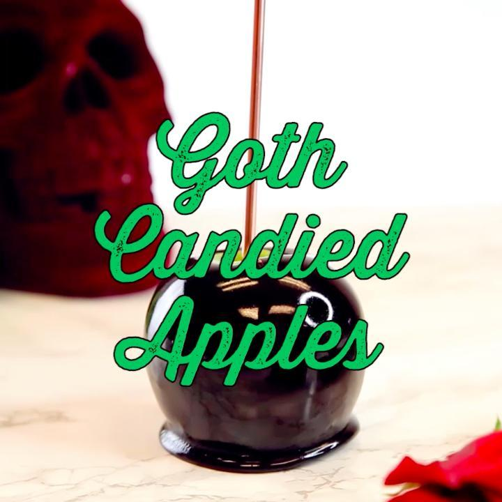 How to Make Goth Candied Apples