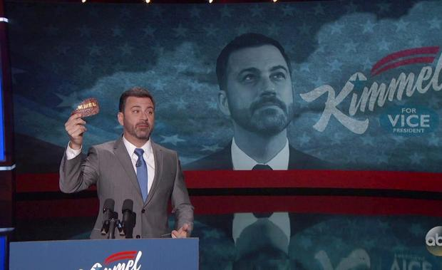 VP Candidate Jimmy Kimmel's Exclusive Card