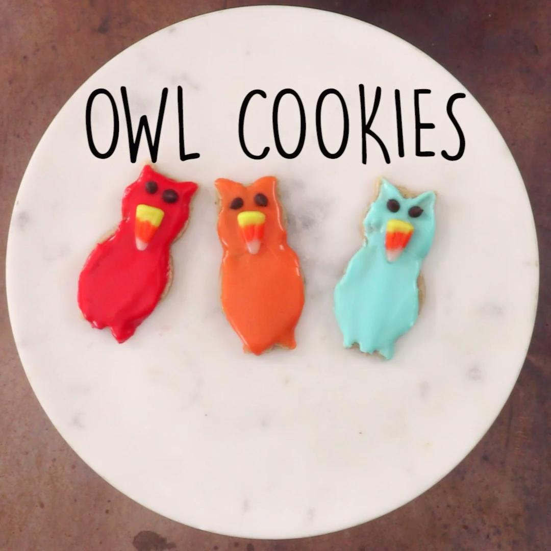 How to Make Owl Cookies