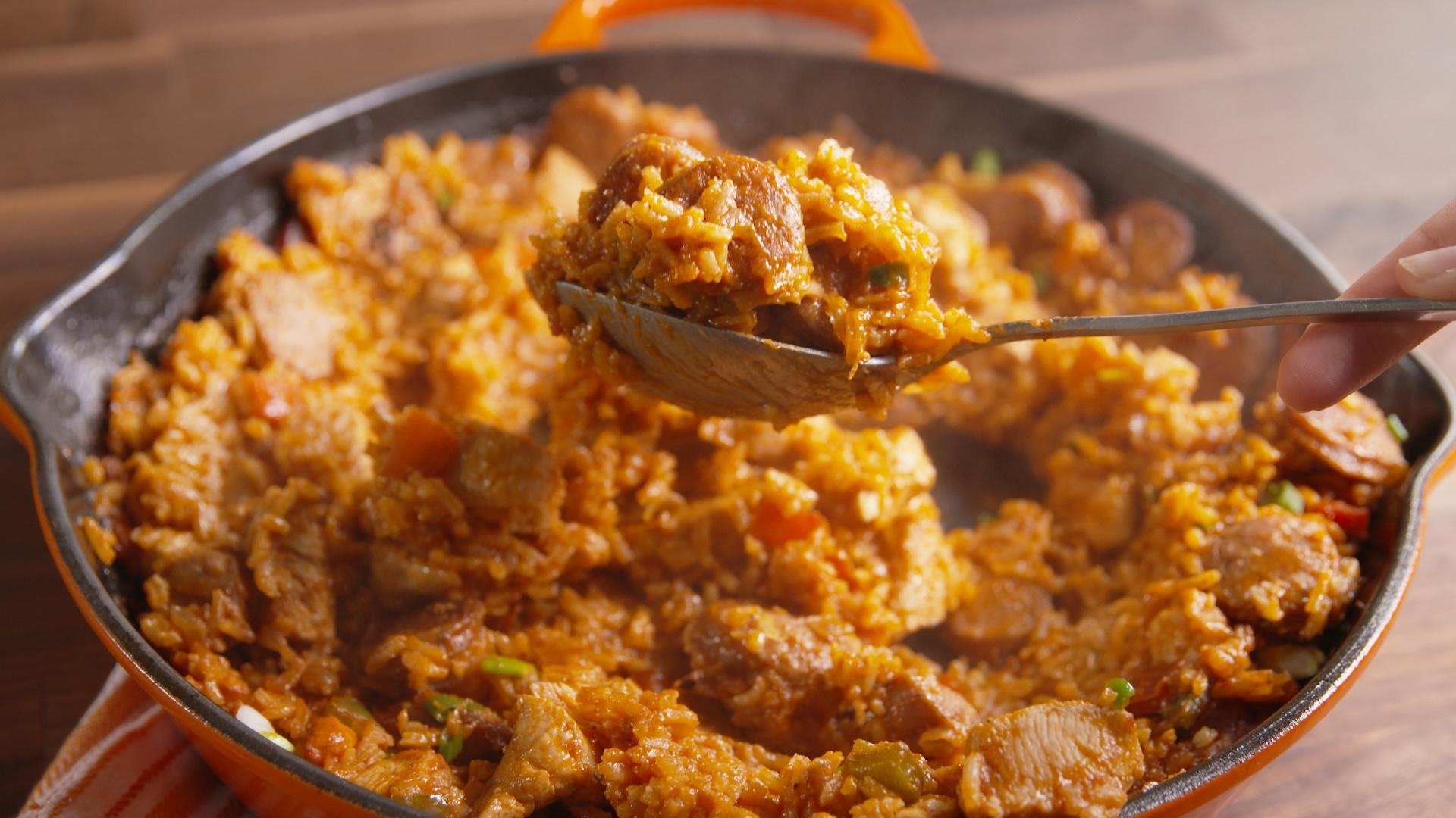 This Cajun Rice Bake Will Heat up Any Chilly Fall Night