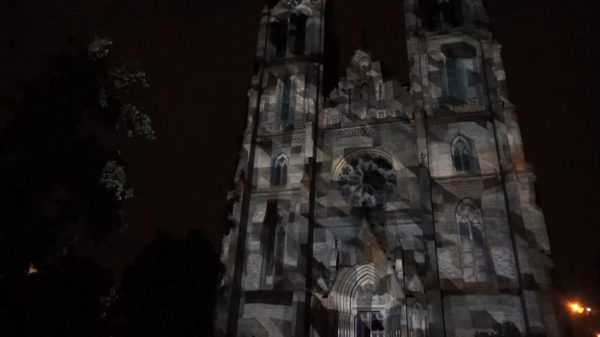 Light Festival Transforms Prague's Landmarks into Psychedelic Works of Art
