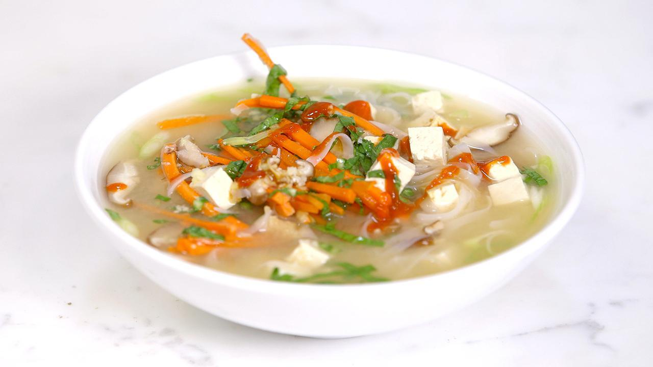 Mason Jar Miso Ramen Soup