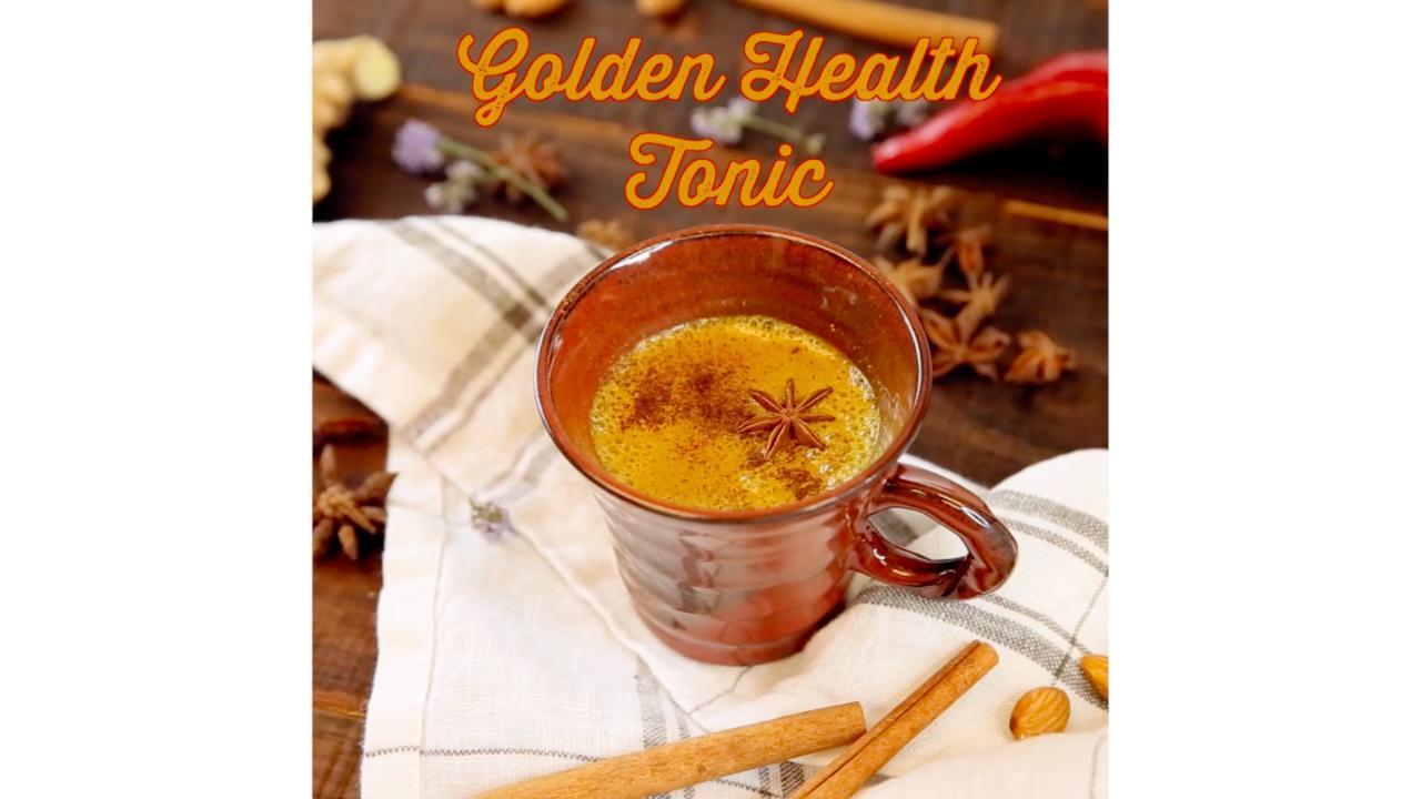 Golden Health Tonic Recipe