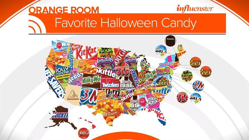 What is the most popular Halloween candy in your state ...