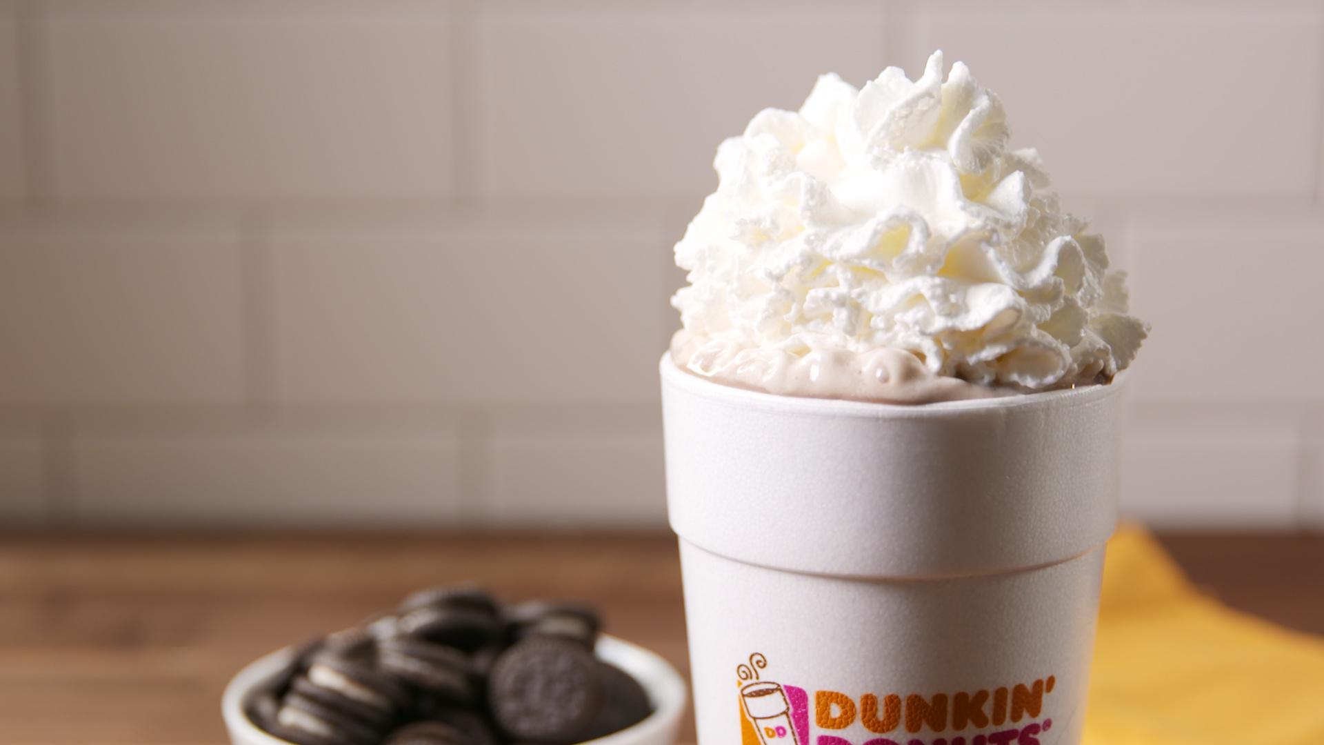 Dunkin' Donuts New Hot Chocolate Flavor Is The Drink You've Been Waiting For