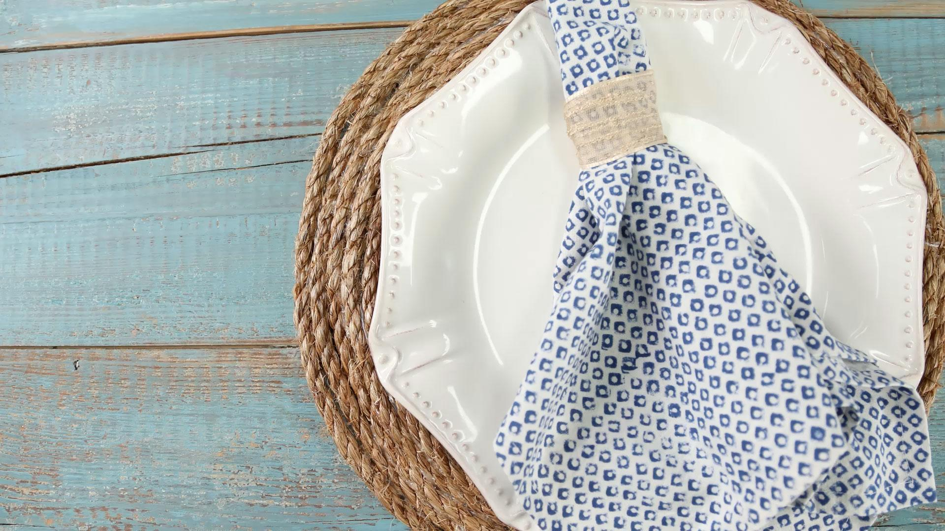 Wrapped Jute Placemats