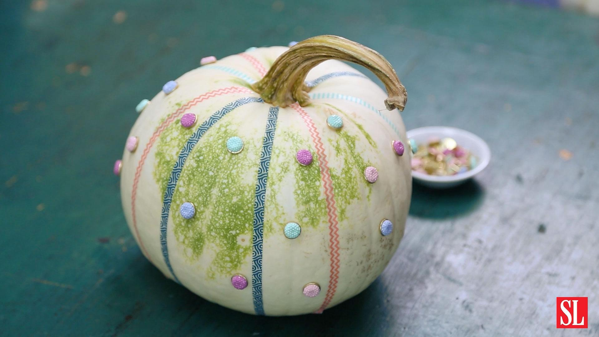 Push Pin Pumpkins