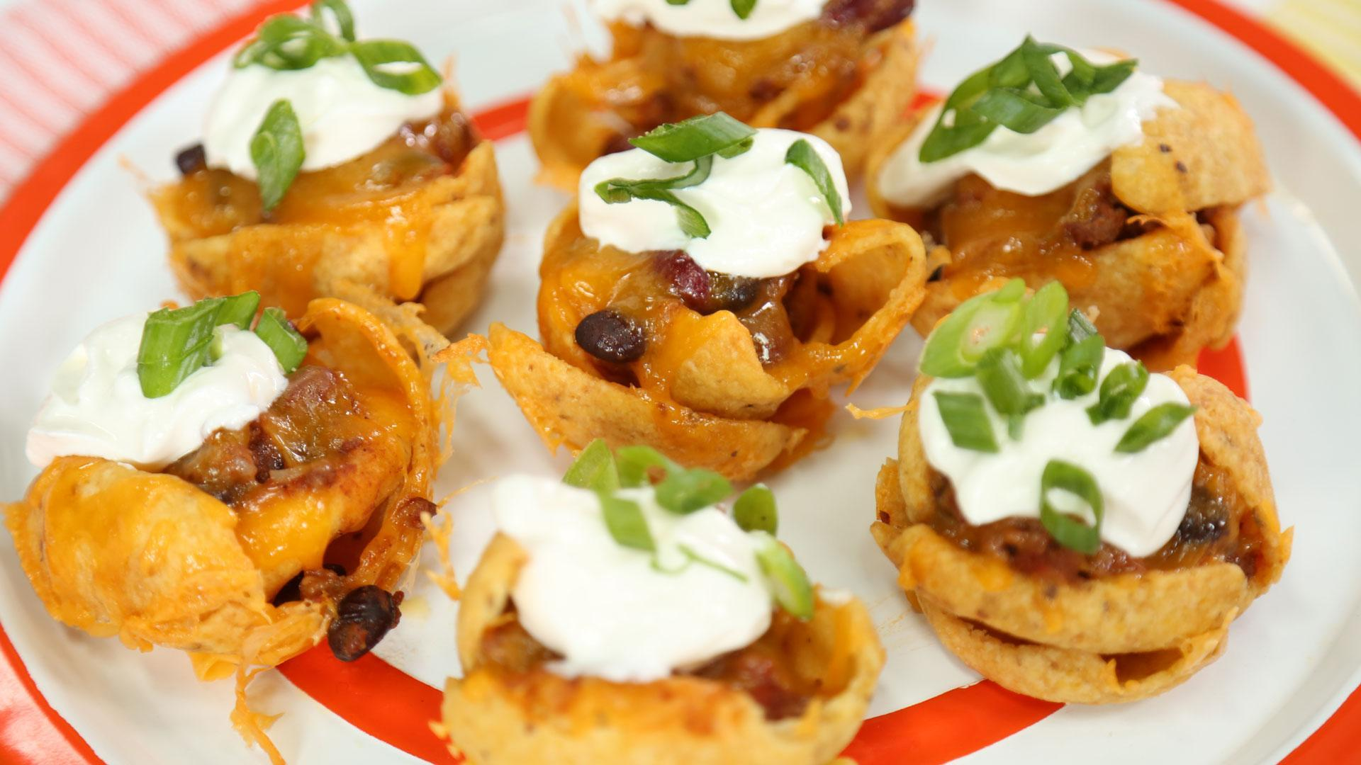 Mini Frito Pie Bowls