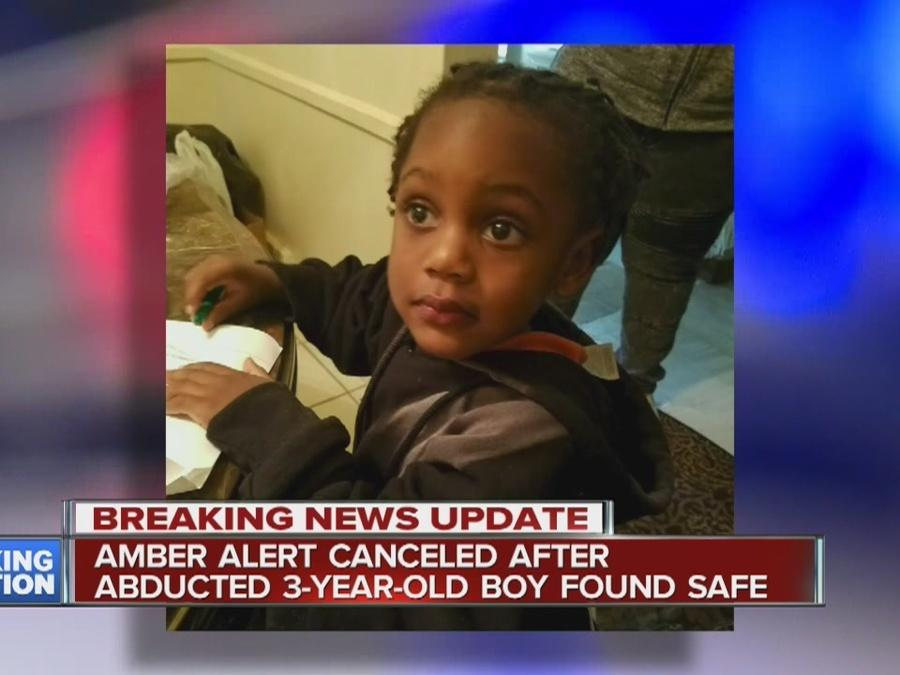 Kidnapped three-year-old recovered after Amber Alert