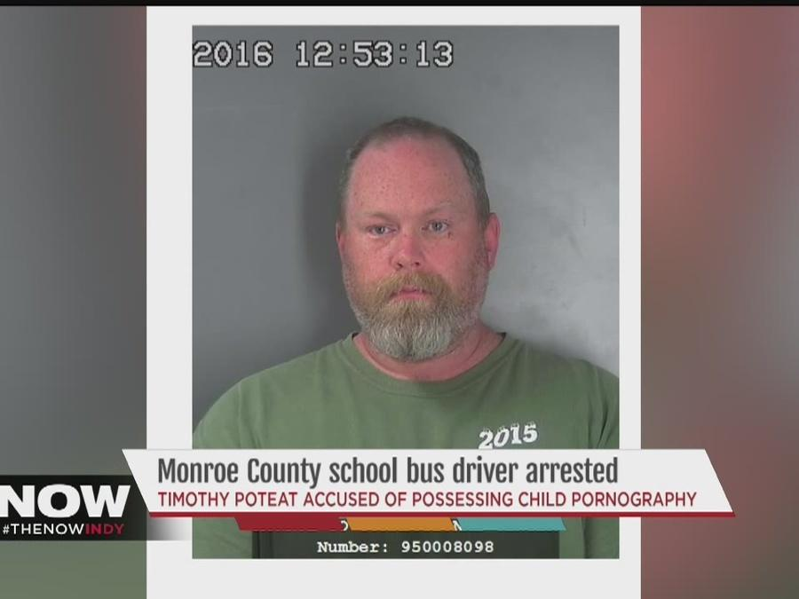 Monroe County bus driver arrested