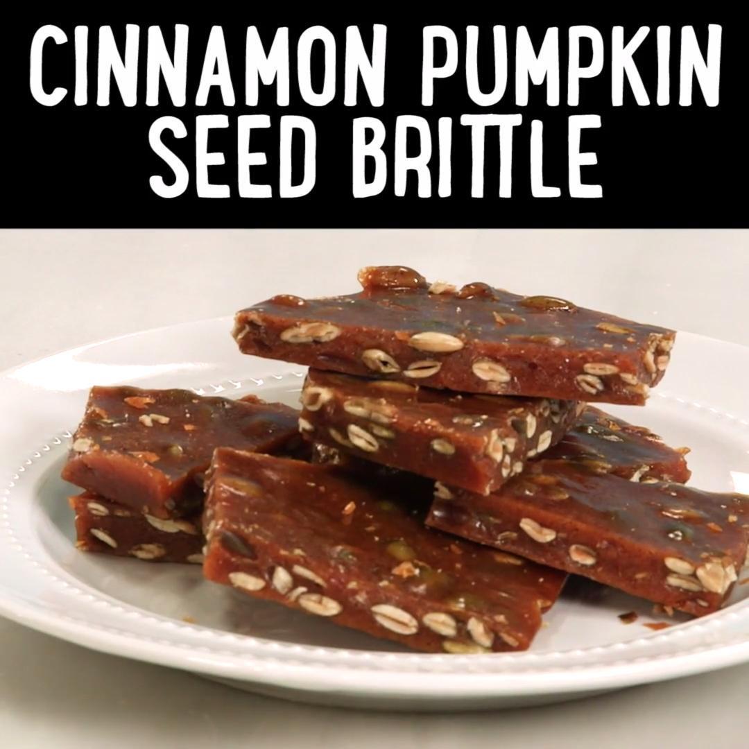 How to Make Cinnamon Pumpkin Seed Brittle