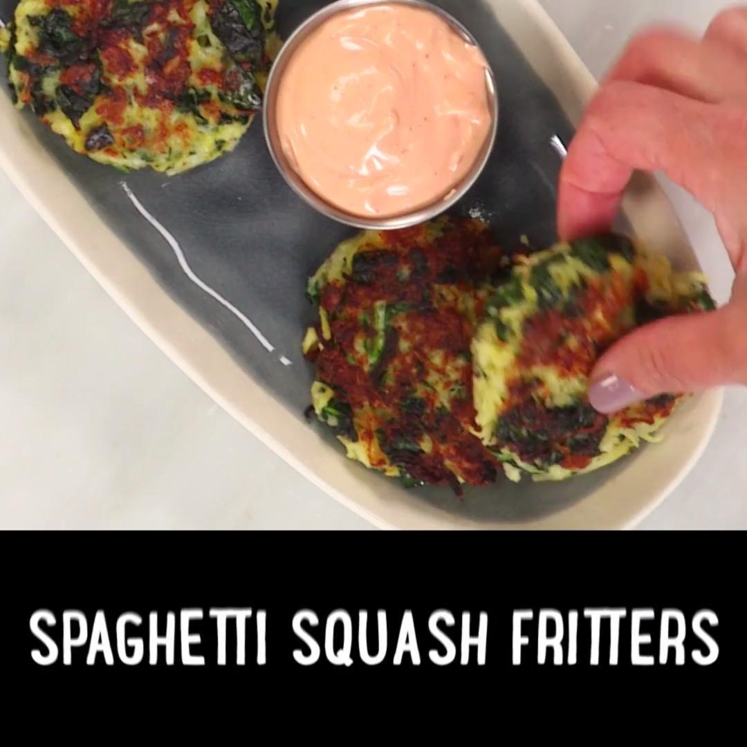 How to Make Spaghetti Squash Fritters
